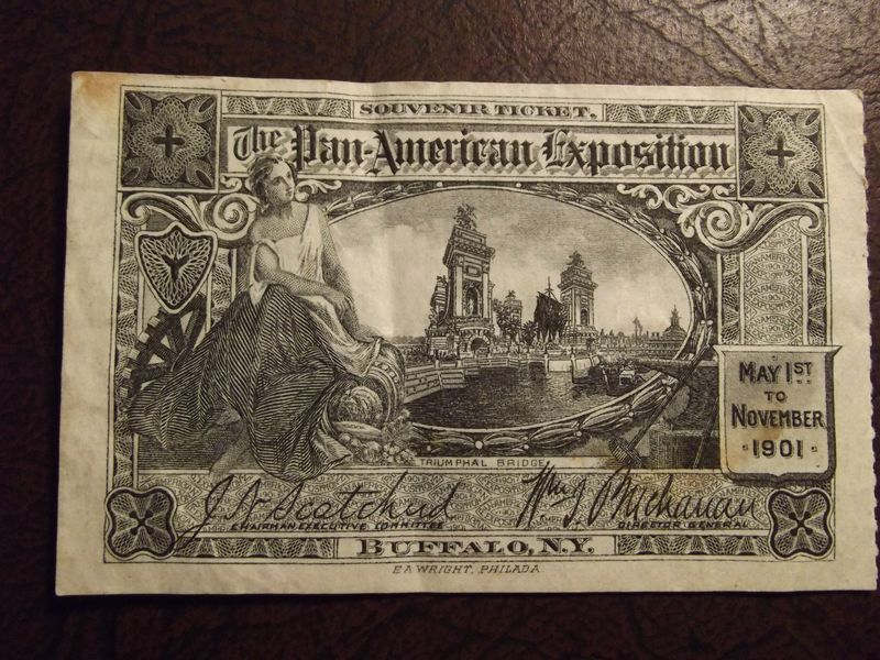 Pan American Expo Ticket Buffalo NY