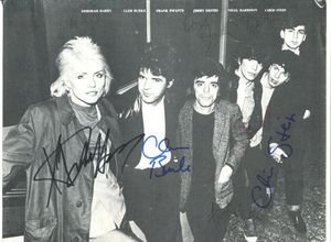 Debbie Harry Blondie Signed Photograph