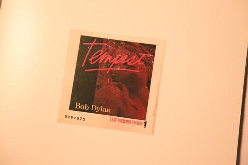 Dylan Tempest Test Pressing