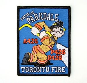 Torono Popeye Firefighter Patch