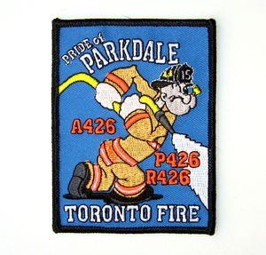 Torono Popeye Firefighter Patch