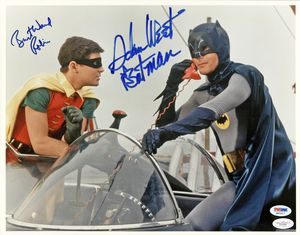 TV Batman & Robin Signed Photo