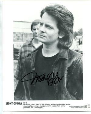 Michael J. Fox Light of Day Publicity Photo
