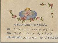 Vintagebirthannouncementcard